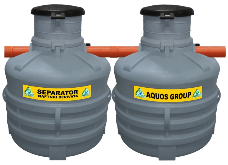 Aquos separatori naftnih derivata