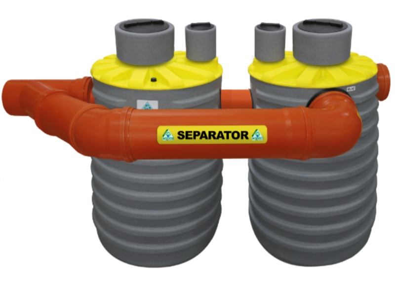 Separatori lakih tekućina naftnih derivata