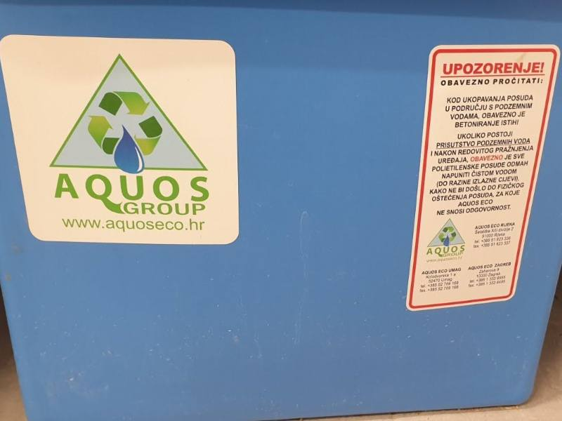 Mastolovi ispod sudopera - Aquos eco