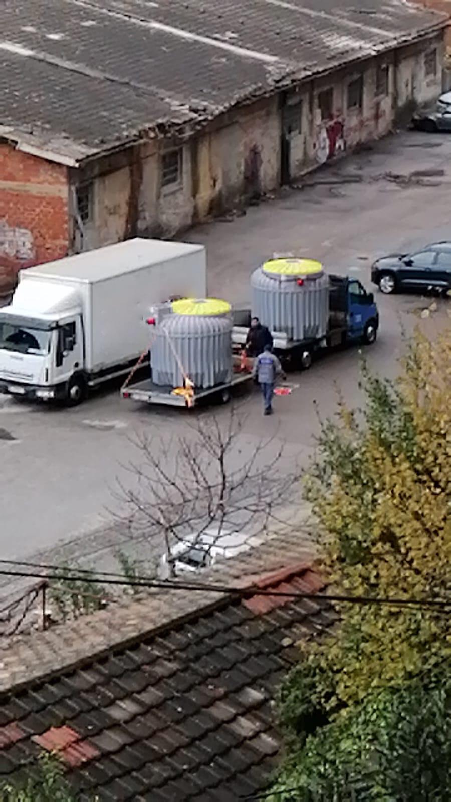 Aquos eco transport uređaja